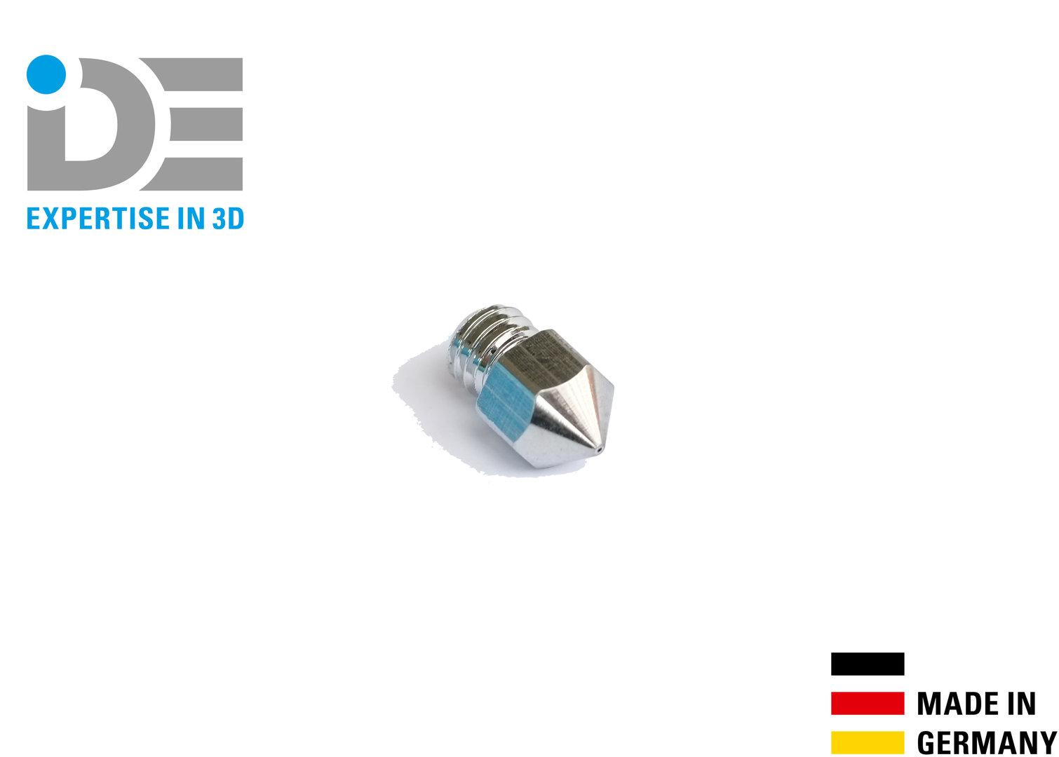 IDE INC hard coated MK8 nozzle for Replicator 2 & 2X