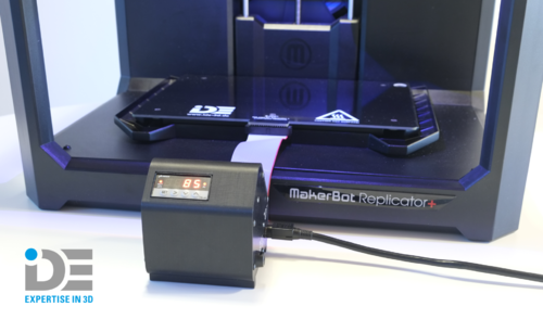 IDE HBP System for MakerBot Replicator+